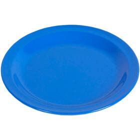 Waca Plate Melamine Flat 23,5cm, blue